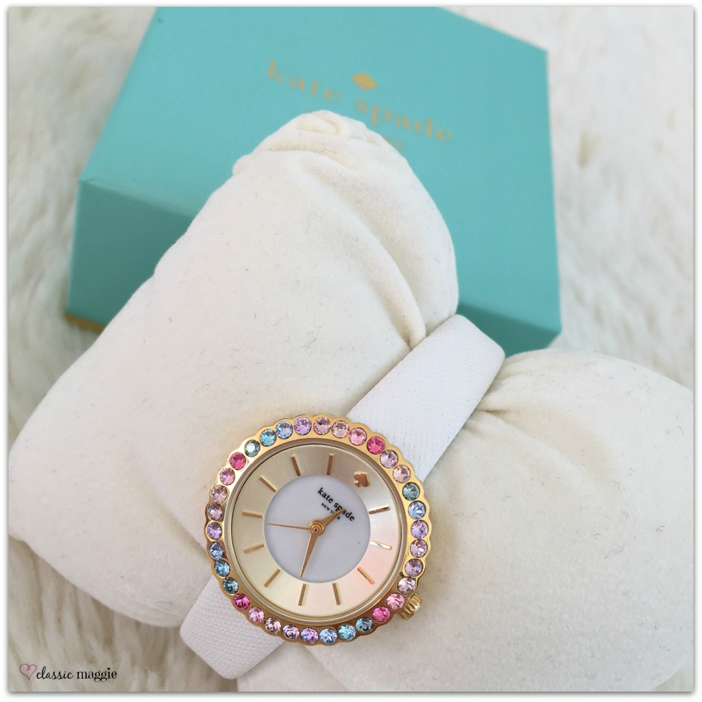Kate Spade New York Cornelia Pave Bezel Watch