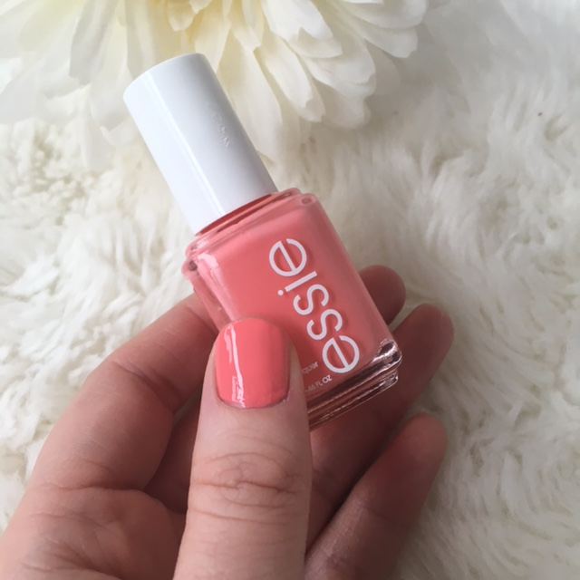 coral nail polish - lounge lover