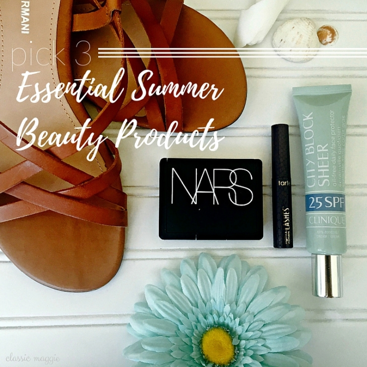 Essential Summer Beauty Products